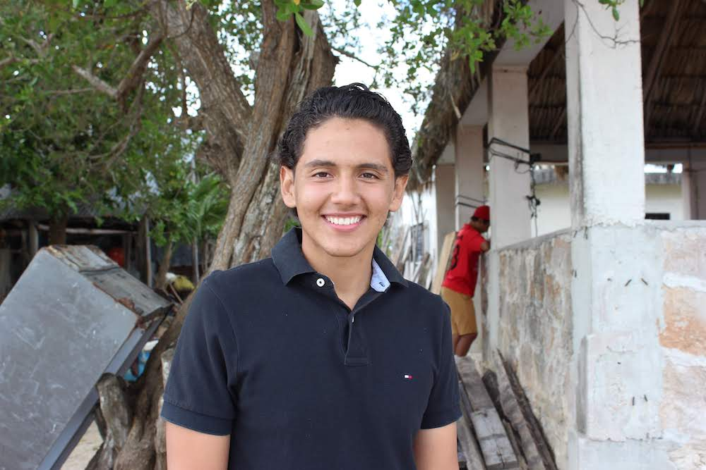 When he was at the Winter Conference, Emmanuel decided that he wanted to apply for the Institute. He dreams of becoming a pilot and is especially excited to learn English. Most of all, he wants to help young people in his community.