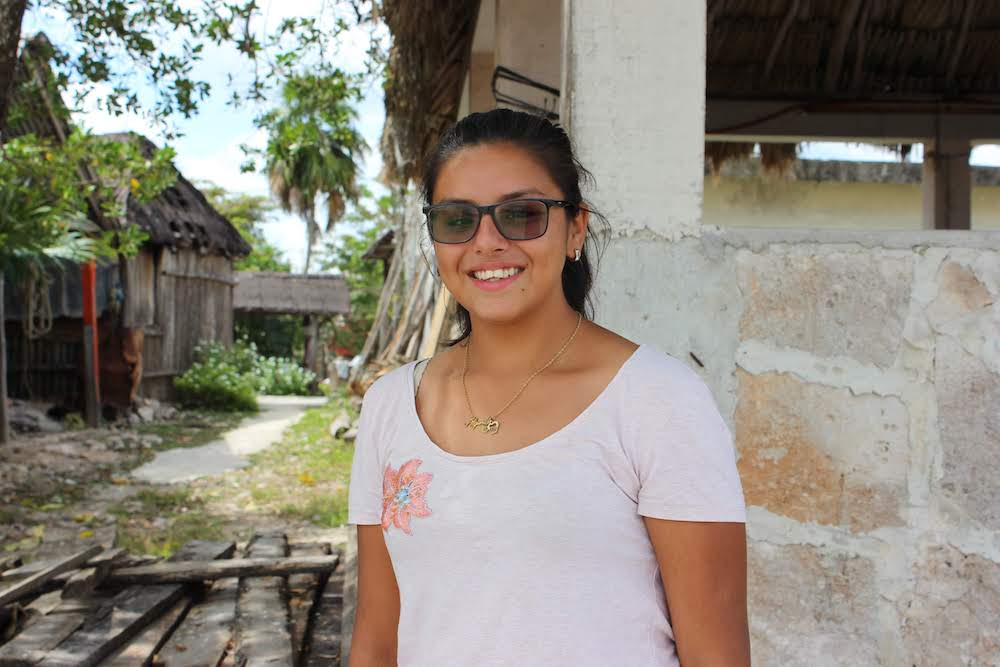 When her big brother, Javier, participated in the Institute, Alejandra watched how he grew and changed—and she knew she wanted to be a part of the program, too. She likes art and sports, and more than anything, she wants to learn English!