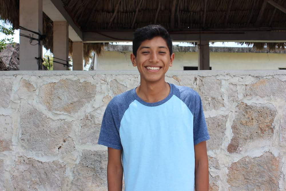 Jezer's big goals for the summer are to learn English and to learn more about his community. He likes studying Mexican history, and while he doesn't yet know what he wants to pursue as an adult, he loves learning!