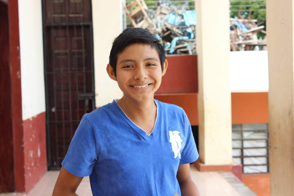 Angel's big goal for the Institute is to get out of his comfort zone and learn. He dreams of studying auto mechanics so that he can work on cars, and above all, he cares deeply about all of the people around him.