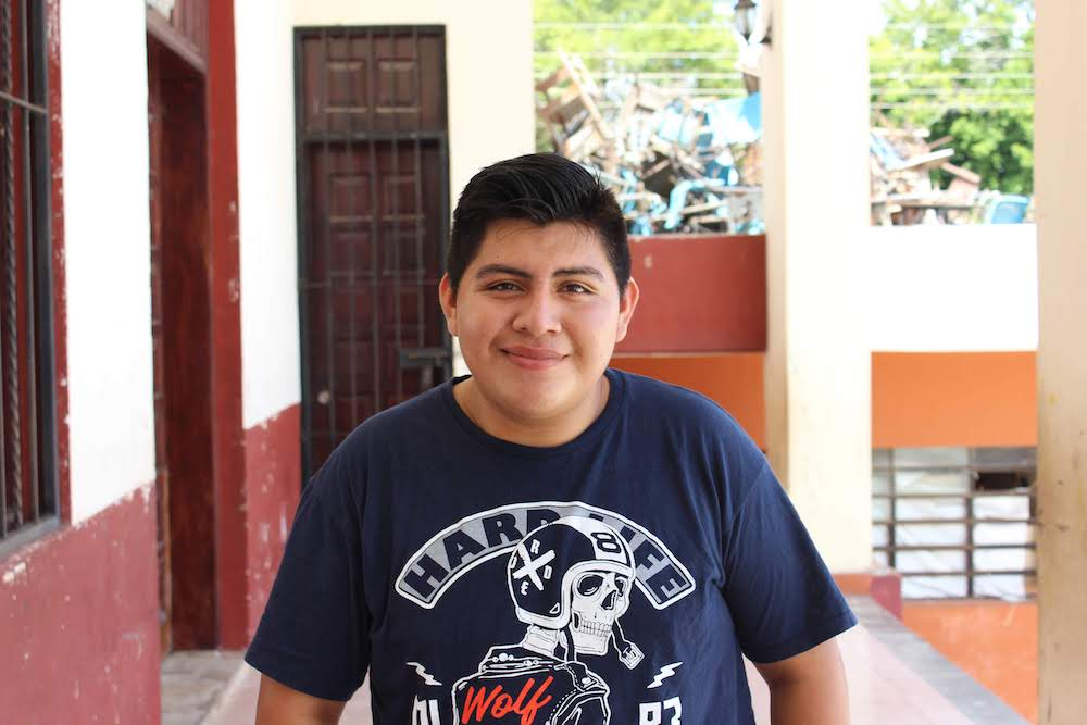 Soft-spoken and creative, Abel loves to draw and dreams of studying graphic design. He knows his community struggles with economic poverty, and he is excited to learn more about how serve those around him.