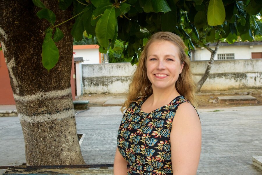 Getting to know our global community: Kallie Haas